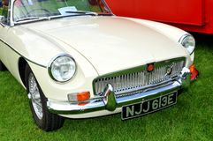 MG vintage cars Royalty Free Stock Photo