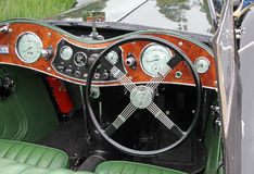 Mg vintage classic car Royalty Free Stock Images