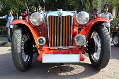 MG Vintage Sports Car Stock Photography