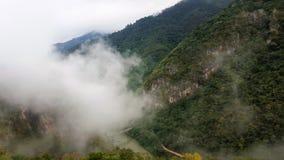 Mgła w górach Zdjęcie Stock