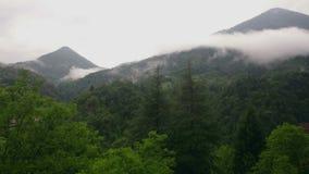 Mgła w górach zbiory