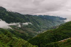 Mgła w górach Obraz Stock