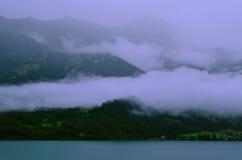 Mgła w górach zdjęcia royalty free