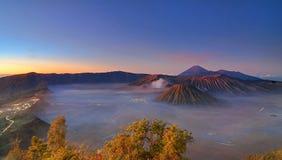 mgła w ranku Fotografia Stock