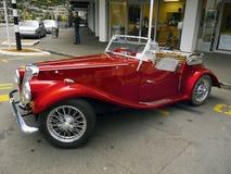 MG, Weinlese-Autos, Sport-Autos Stockfoto