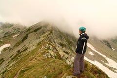 mgły góra Fotografia Royalty Free