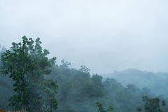 mgły góra Obraz Royalty Free