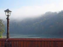 mgły lampionu ranek Obrazy Stock