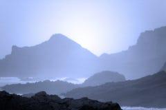 mgły morza Zdjęcia Stock
