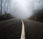 mgły ulica zdjęcie stock