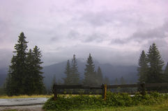 mgły zakopane Zdjęcie Stock