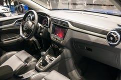 MG ZS SUV на автосалоне Шанхая Стоковые Изображения