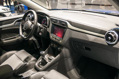 MG ZS SUV all'esposizione automatica di Shanghai Immagini Stock