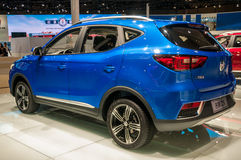 MG ZS SUV in Shanghai Auto toont Stock Fotografie