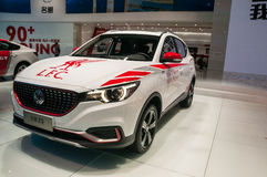 MG ZS SUV in Shanghai Auto toont Royalty-vrije Stock Afbeeldingen