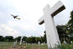 Mga Bayani del ng de Libingan del cementerio de Heroes' en Filipinas imágenes de archivo libres de regalías