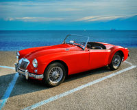 MGA 1500 Roadster British classic 2 door  1960 Stock Photos