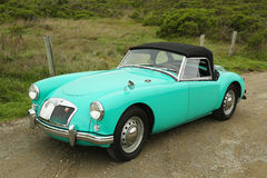 MGA sport car in suburb of San Francisco Stock Photography