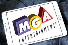 MGA-Vermaakstuk speelgoed fabrikantenembleem Stock Fotografie