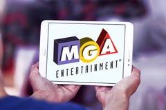 MGA-Vermaakstuk speelgoed fabrikantenembleem Royalty-vrije Stock Afbeelding