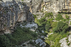 Mgarr ix-Xini Valley Stock Photography