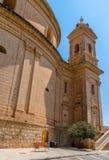 Mgarr kyrka tillbaka Royaltyfria Bilder