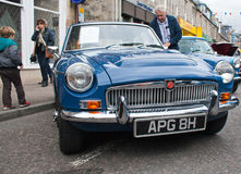 MGB Tourer Royalty Free Stock Photo