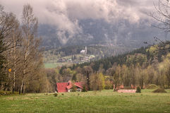 mgieł góry Obraz Stock