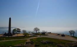 Mgiełka na morzu Fotografia Royalty Free