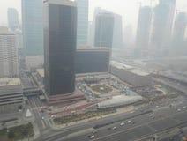 Mgiełki zanieczyszczenia Pekin miasto 4 Zdjęcie Royalty Free