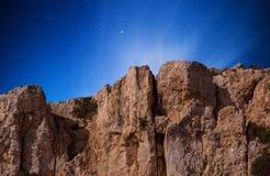 Mgiebah-Klippen Stockbilder