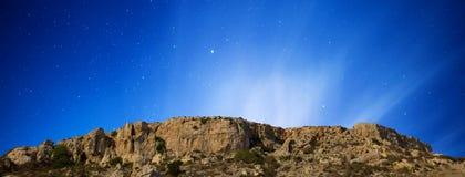Mgiebah klippor Arkivbild