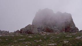 mgliści szczyty zdjęcie wideo