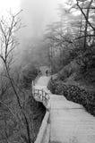 Mgliste Huangshan góry Obrazy Stock