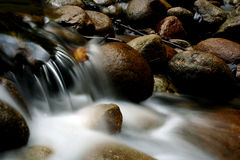 mgliste wody Fotografia Royalty Free