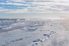 Mglisty wybrzeże Zdjęcie Stock