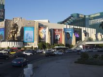 MGM το μεγάλο Λας Βέγκας, Λας Βέγκας, ΗΠΑ Στοκ εικόνα με δικαίωμα ελεύθερης χρήσης
