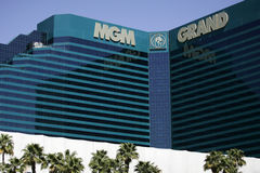 MGM το μεγάλο Λας Βέγκας Στοκ Εικόνες