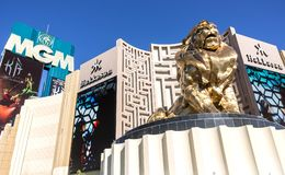 MGM casino,Las Vegas Royalty Free Stock Images