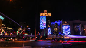 MGM Casino in Las Vegas Stock Images