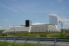 MGM Casino Resort at National Harbor Stock Images