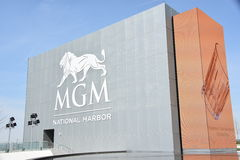 MGM Casino Resort at National Harbor Stock Photo