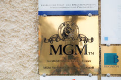 MGM Channel Central Europe Royalty Free Stock Photography
