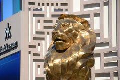 MGM Grand拉斯维加斯,拉斯维加斯, NV 免版税库存图片