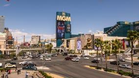 MGM GRAND旅馆拉斯维加斯-拉斯维加斯,内华达2015年4月12日 免版税库存照片