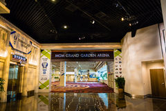 MGM Grand Garden Arena Stock Images