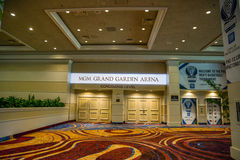 MGM Grand Garden Arena Stock Photo