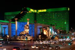 MGM Grand Hotel Royalty Free Stock Photography