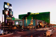 MGM Grand Hotel Royalty Free Stock Images