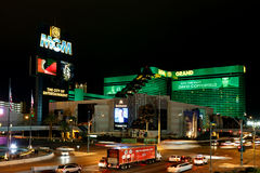 MGM Grand hotel and casino Royalty Free Stock Photography